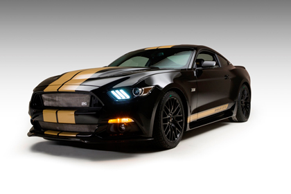 Prototype GT-H Auctioned Off to benefit the Carroll Shelby Foundation.