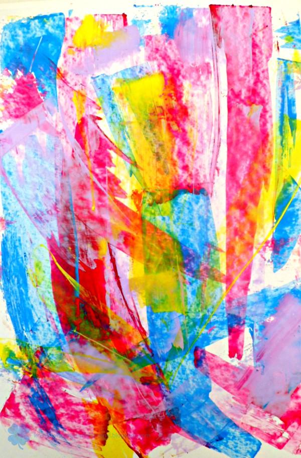 papier kolorowy dla dzieci DIY