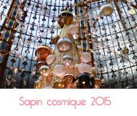 sapin cosmique des Galeries Lafayette
