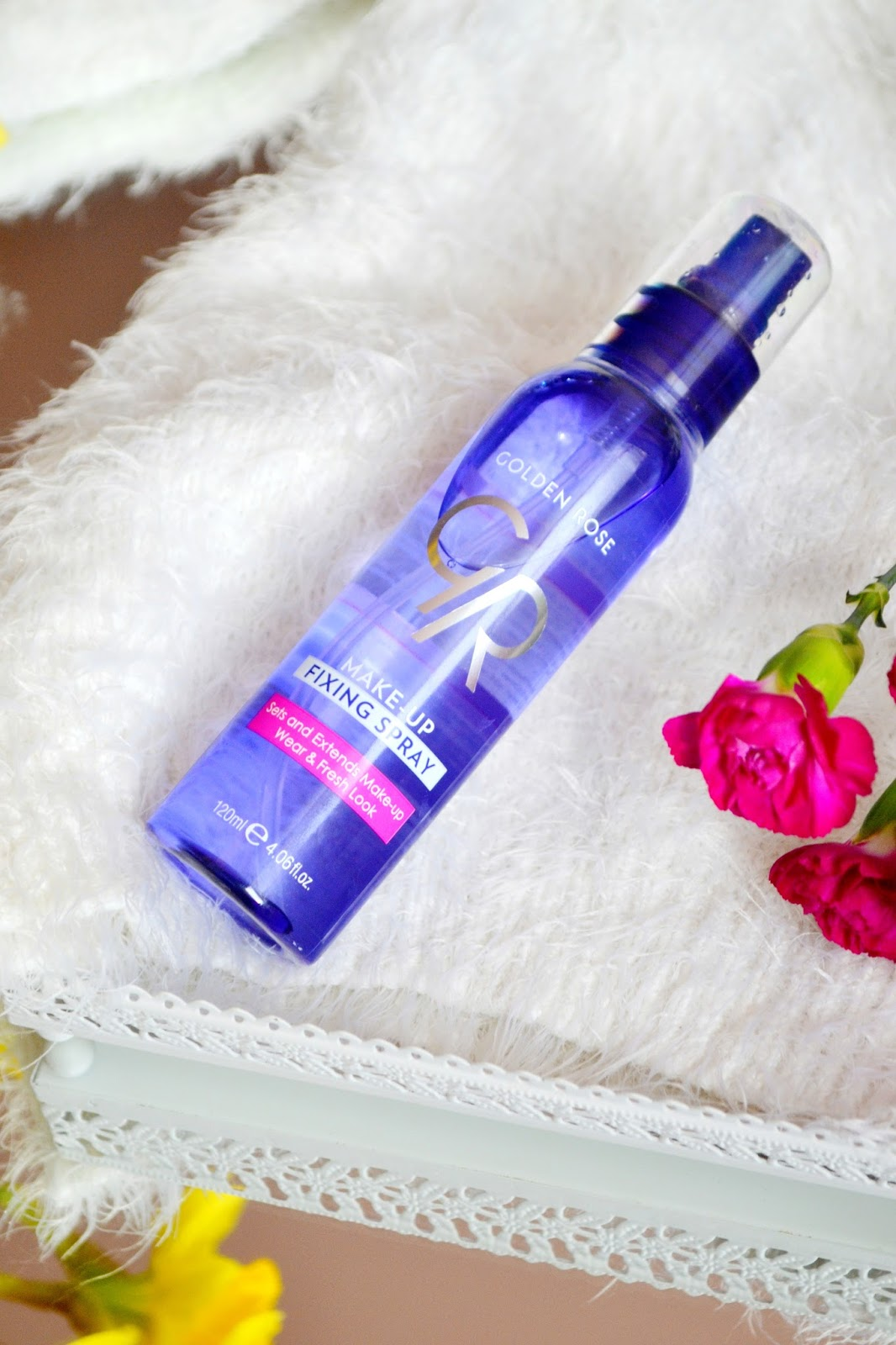 golden rose fixing spray utrwalający makijaż  recenzja