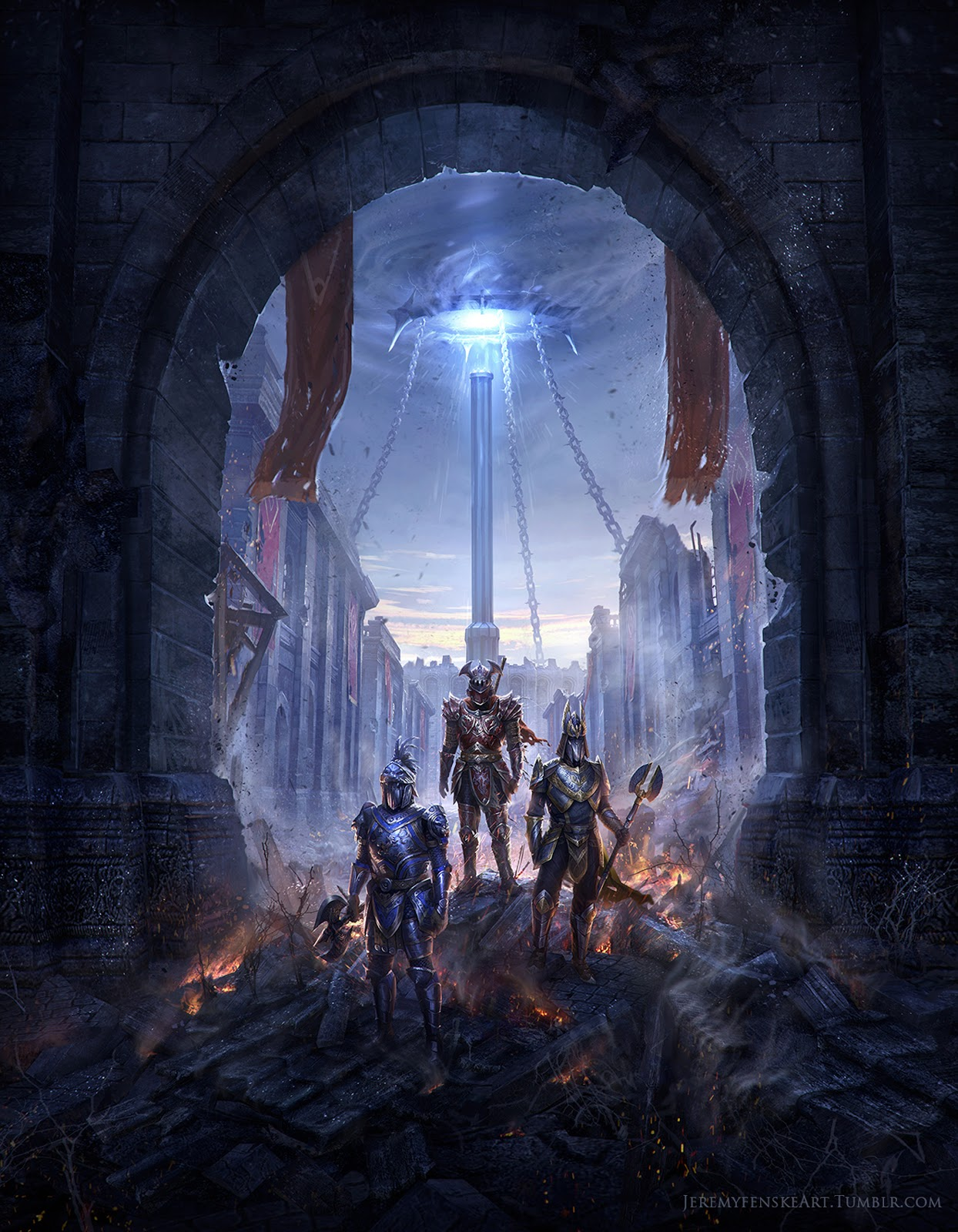 Nice Anime Wallpaper Jeremy Fenske Art Eso Imperial City Illustrations