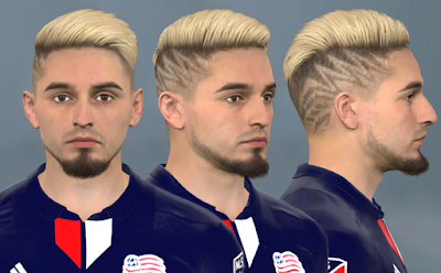 PES 2017 Faces Diego Fagúndez by WER Facemaker