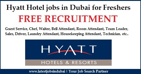 hyatt hotel jobs in dubai for freshers