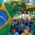 Mariangaenses foram às ruas neste domingo em defesa do governo Bolsonaro