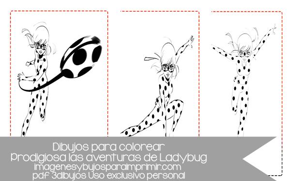 Dibujos De Prodigiosa Las Aventuras De Ladybug Para Colorear
