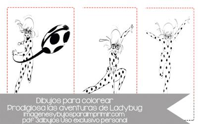 Imprimir y colorear a ladybug