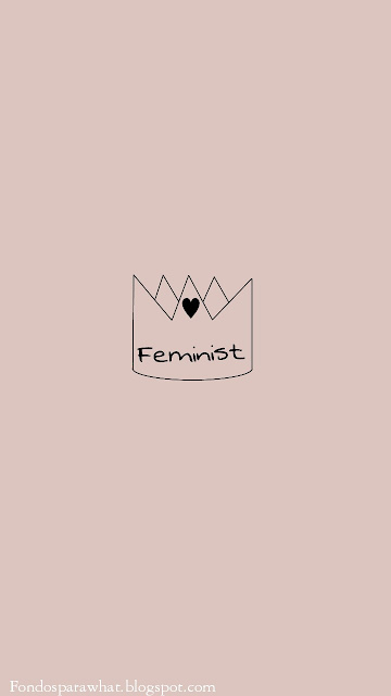 3 Fondos de Pantallas en Tonos Rosas #Feminista