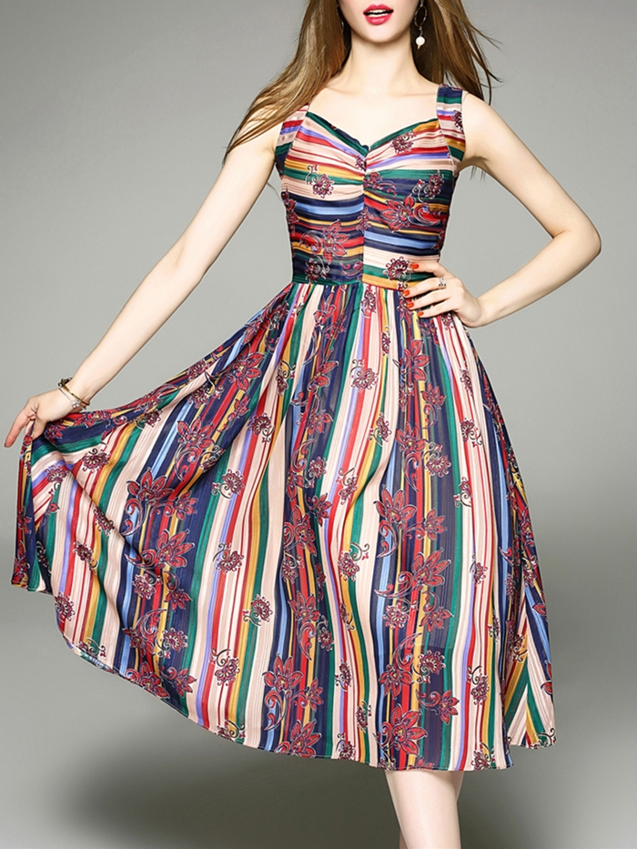 https://www.fashionmia.com/Products/sweet-heart-multi-color-striped-printed-midi-skater-dress-216211.html