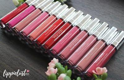 Wardah Exclusive Matte Lip Cream Original Lipstick Mate