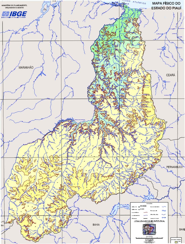 Mapas do Estado do Piauí