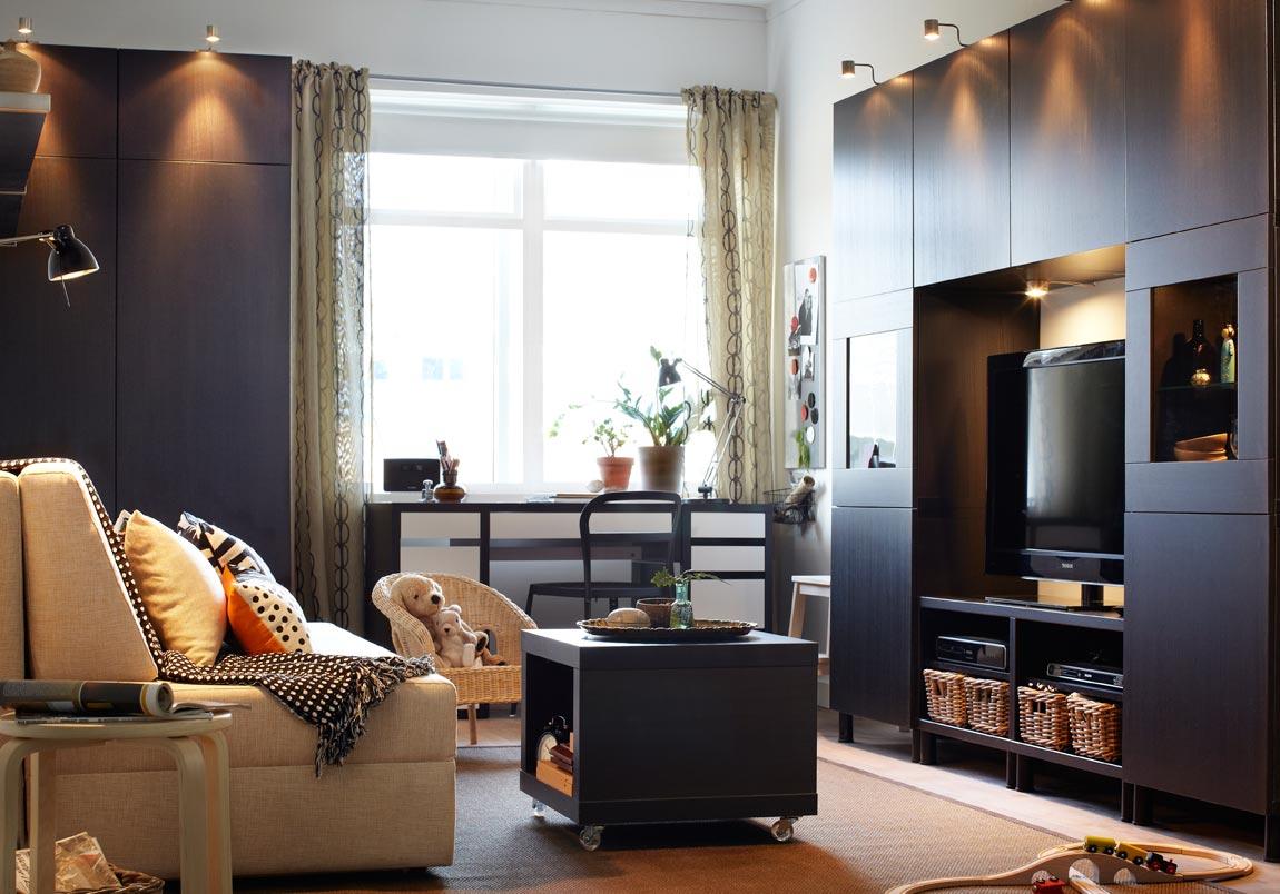 Idea Untuk Dekorasi Ruang Tamu Ikea Bahagian 1