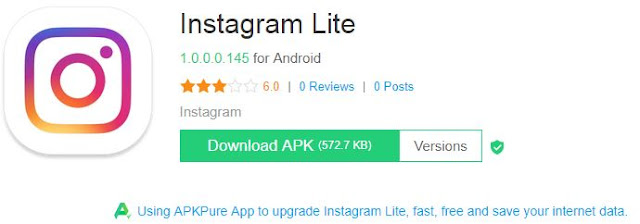 download instagram lite
