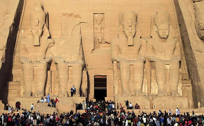 Ancient Temple Abu Simbel