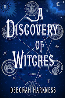 A Discovery of Witches by Deborah Harkness book cover