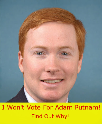 No Governor Adam Putnam For Florida Your Vote Decides