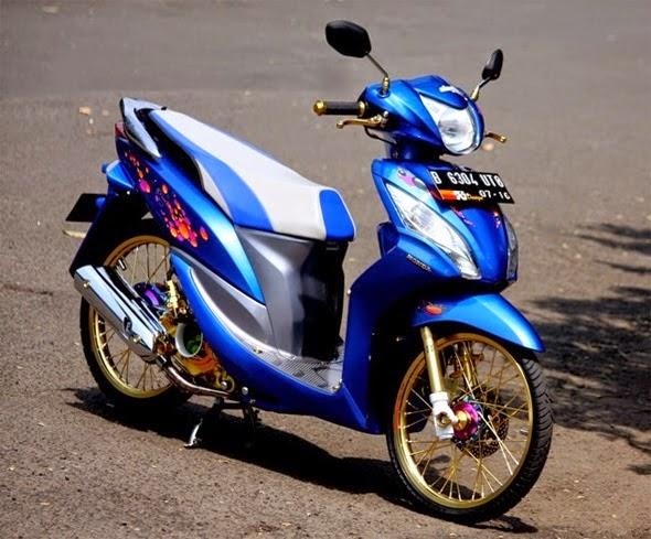 Variasi Motor Matic Honda Spacy  tahun ini