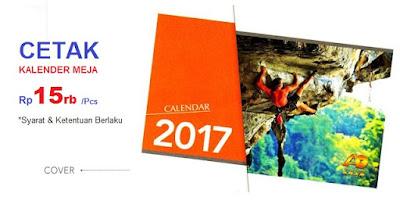 Percetakan kalender murah