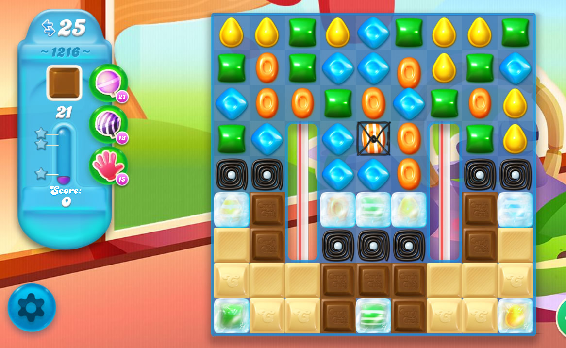 Candy Crush Soda Saga level 1216