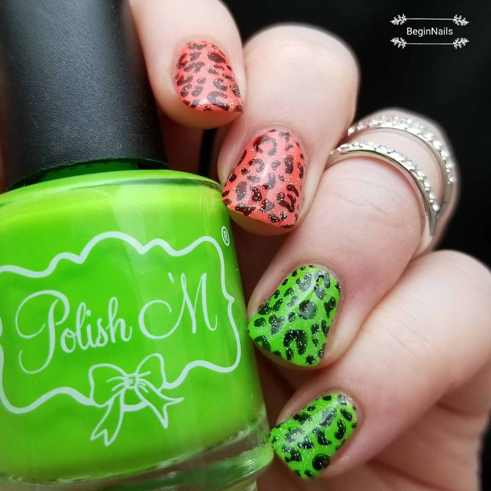 Let\'s Begin Nails: 26 Great Nail Art Ideas: Animal Print in the ...