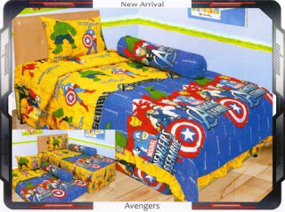 sprei internal motif Avengers