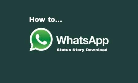 Trik Download Video Di Whatsapp Status Story