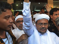Habib Rizieq Resmi Jadi Tersangka Kasus Chat WhatsApp Berkonten Pornografi