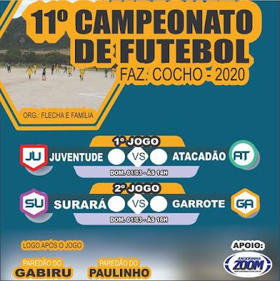 11º CAMPEONATO DE FUTEBOL