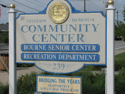 Bourne Community Center Sign