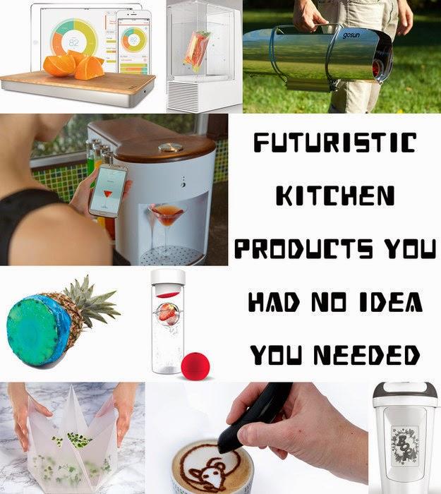 Futuristic Kitchen Stuff: 39 Futuristic Kitchen Products You Had No Idea You Needed