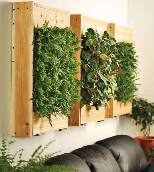 Jardines Verticales En Interiores Ideas Para Decorar Disenar Y