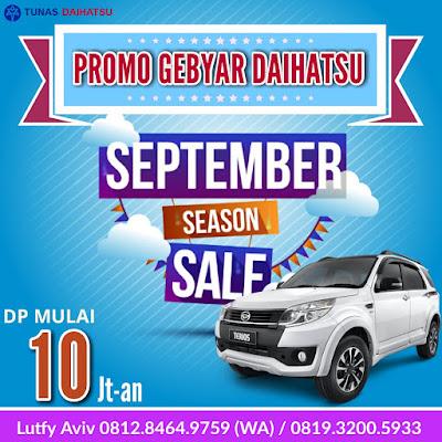 Promo Daihatsu Terios September Ceria 2017, Asli Termurah!