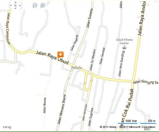 Museum Puri Lukisan Ubud Location Map,Location Map of Museum Puri Lukisan Ubud,Museum Puri Lukisan Ubud Accommodation Destinations Attractions Hotels Map photos pictures