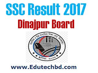 SSC Result 2017 Dinajpur Board