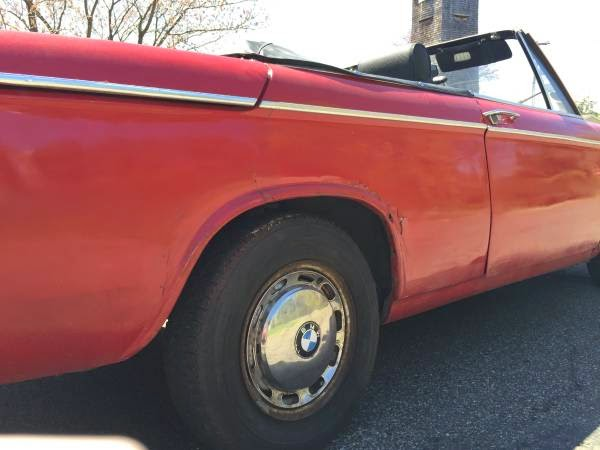 Baurspotting Rare 1969 Bmw 1602 Convertible Baur 1600