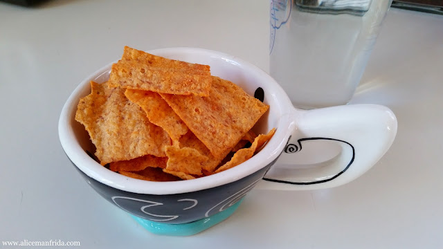 snack, sun chips, harvest cheddar, salty, food diary
