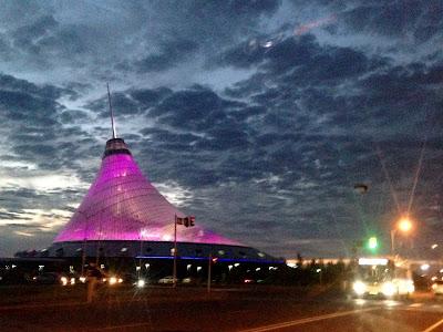 Astana nocą