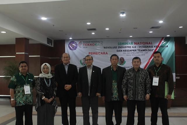 Fakultas Teknik UHAMKA, Gelar Seminar Nasional TEKNOKA Untuk Menghadapi Rrevolusi Industri 4.0