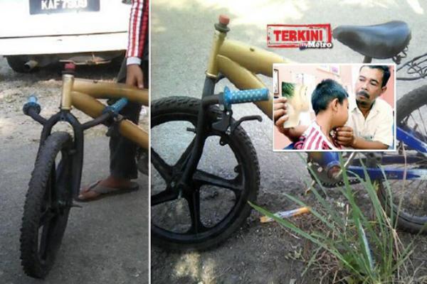 Dicekik, Ditampar & Dipijak Guru Kerana Handle Basikal