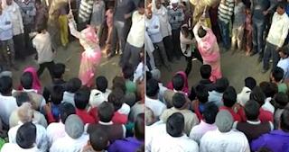 Ινδή μαστιγώθηκε δημόσια 100 φορές από τον άντρα της επειδή τον απάτησε