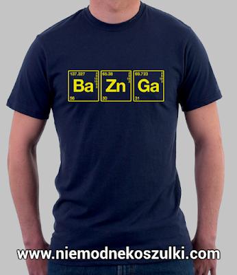 koszulka Bazinga teoria wielkiego podrywu