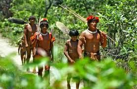 Como os Indios chegaram no Brasil