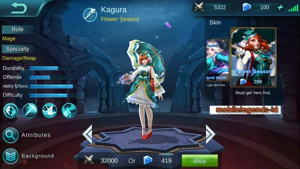 Skin Flower Season Kagura