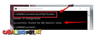 Cara Melakukan Flush DNS di CMD Windows