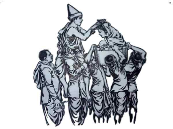 Santali Bapla (Marriage)