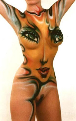 Remarkable, very Hot sexy women body paint