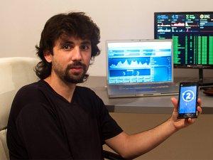 Leif Ferreira en las oficinas de Bit2Me.