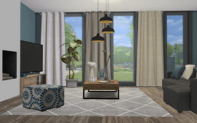 villa rabiere Sims 4