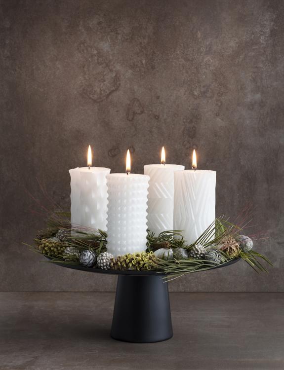 Kalendarz adwentowy, świeczki