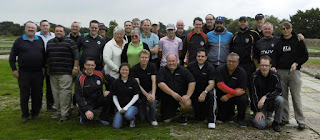 Photo of the players at the Cambridgeshire and Essex Open Minigolf Championship
