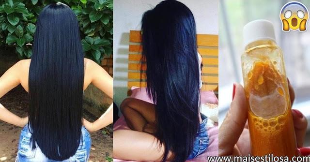 como fazer o cabelo crescer 2 centímetros por noite